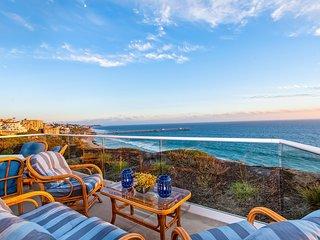 New! Stunning Ocean view condo overlooking San Clemente beach!