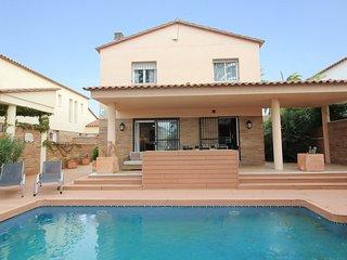 Apart-rent (0109) Villa al canal con piscina & amarre Empuriabrava