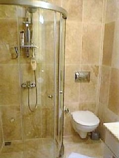 1 of 2 en-suite  marble shower room