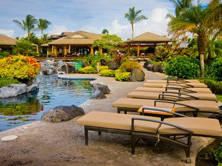 Location, location. Close to clubhouse with an ocean view.  Beach Cruisers too!, Waikoloa