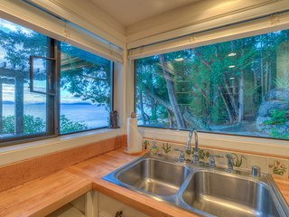 Sea Dream:  View as you wash dishes.