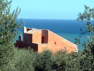 House with 4 rooms in Rodi garganico, with wonderful sea view, furnished garden