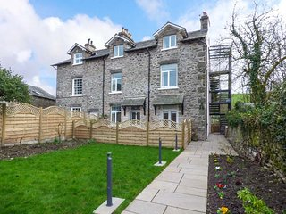 CROOKLANDS HOUSE 3, all ground floor, private patio, shared garden, woodburning