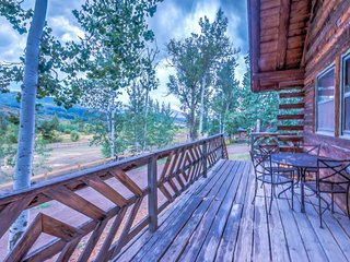 Historical Cabin in Strawberry Park, Steamboat Springs