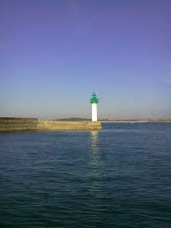 The lighthouse of Mogueriec