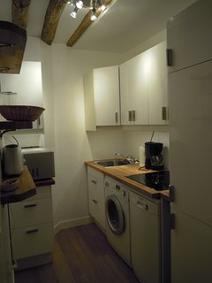 the complete and separate kitchen