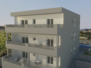 Villa Aria, seafront, Trogir