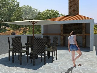 Luxury Villa Aria, seafront, 1st floor, Trogir