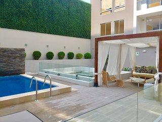 Espectacular y full equipado  apartamento en la mejor zona de Barranco.