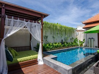 Sanur - Private luxury modern Villa with stunning day bed,  close to Hardys hub.