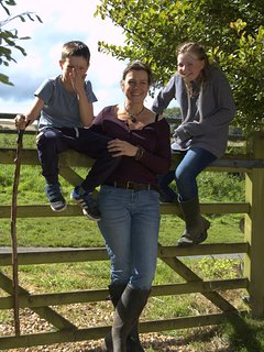 Welcome to Middle Farm - from Sam, Maddie and Connor