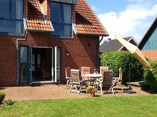4-Sterne Ferienhaus mit Panoramablick auf die Ostsee, Brodersby