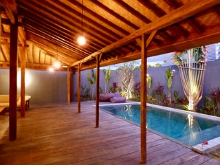 Villa 2 chambres, idéalement située entre Canggu et Seminyak
