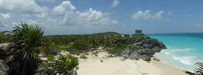 Archeological Maya site in Tulum 40 min drive