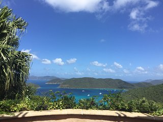 Villa HAKUNA MATATA  Surrounded by National PK on North Shore above Cinnamon Bay