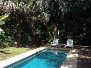 Beautiful private 3/2 home w pool - 15min walk to Playa Avellanas