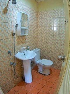 Upstairs upgraded Bathroom