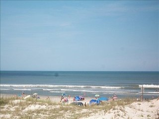 Oceanfront Ground Floor End Unit, Crescent Beach
