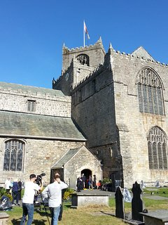 Cartmel's 12th century Priory, just one mile from the house.