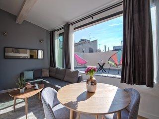 Aix Belle Etoile - Centre Petit Loft avec Terrasse Luxe