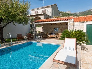 Luxury Villa Sea Side Bol with pool near the sea in Bol on Brac