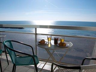 Magnifique appartement 65 m2 sur la plage, rénovation 2017, grande terrasse !
