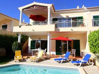 Villa Miranda walk to everywhere in Praia da Luz. Including the beach !