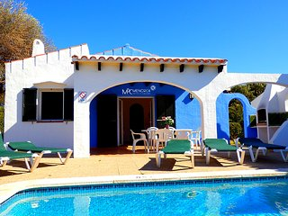 Villa Nacho | Cap d'Artrutx, chalet con jardín y piscina privada en Menorca