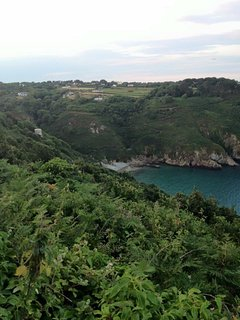 Clifftop view of Saints Bay