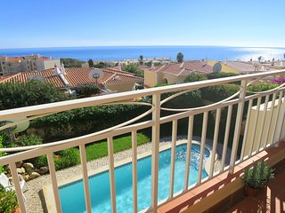 Gorgeous panoramic sea views from the large veranda overlooking the pool