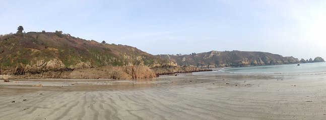 Breathtaking Moulin Huet beach - just a short walk away