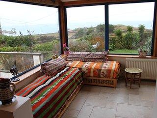 Villa bord de mer à 200m de la plage  avec un grand jardin