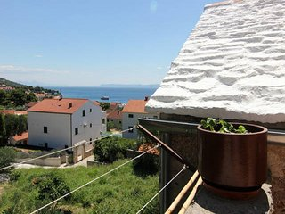 Apartments Nadia - Studio Apartment With Terrace and Sea View (A1)