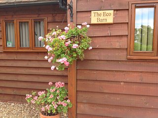 "Clematis cottages: The ""Eco Barn'"