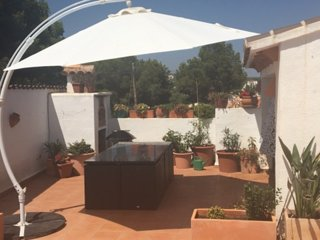 Private Villa with own Pool, walk to Moraira town, beaches, bars and restaurants