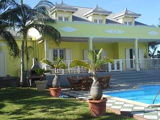 Villa 'La Creole' avec piscine, de 08 a 12 pers.