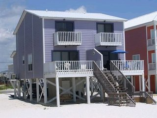 Gulf Front Duplex Right on the Beach! Oz Duplex - Toto