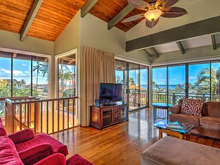 2300 sq. ft. Ocean View 3Br/2Ba-A/C-Walk To Beach