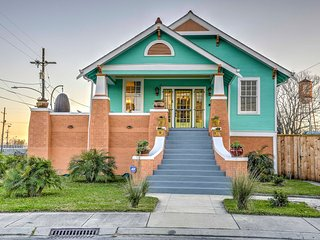NEW! Vintage 3BR New Orleans House w Large Yard
