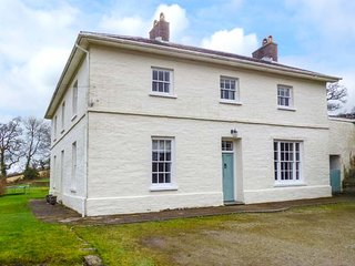 MANORDEIFI, detached Georgian rectory, stunning views, character features, 8