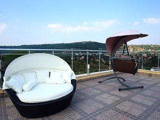 Luxury 1-Bedroom Duplex Apartment in Sintria Court Premium