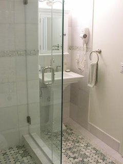 Main bath with stall shower