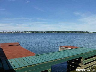 private docks for swimming, fishing, boating