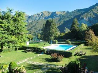Appartamento con piscina sul lungolago di Molina di Ledro in Trentino