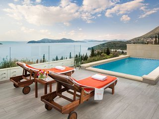 Luxury Villa Malena with pool close to Dubrovnik – Dubrovnik – Orasac*