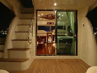 Boat accommodation in ACI marina Split