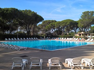 Appartement T2 (3*) tout confort avec terrasse privative, piscine, tennis, golf