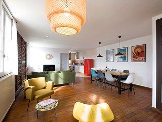 Bayonne - Beau duplex 3 chambres au centre ville avec grande  terrasse