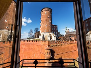 Deluxe Apartment with Castle View, Krakau