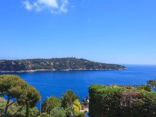 Superbe Triplex avec solarium vue mer dans résidence Luxe avec piscine, Villefranche-sur-Mer